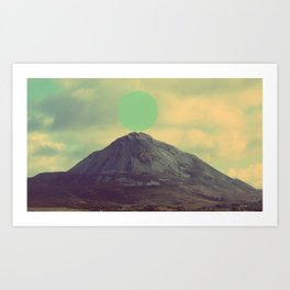 sphere/cone Art Print
