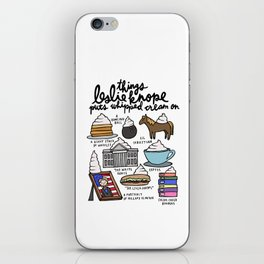 Things Leslie Knope puts Whipped Cream on iPhone Skin