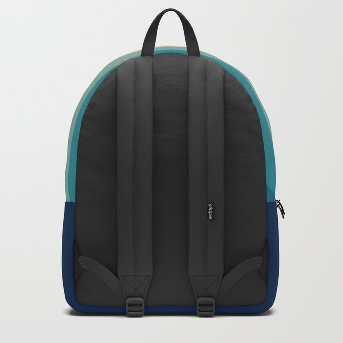 Retro 70s Color Palette III Rucksack
