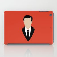 moriarty iPad Cases featuring 3 Jim Moriarty by Alice Wieckowska