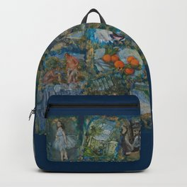The Impressionists No. 1 COL140215a Backpack