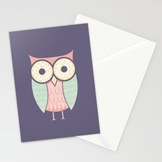 Owl Have Doughnuts Stationery Cards