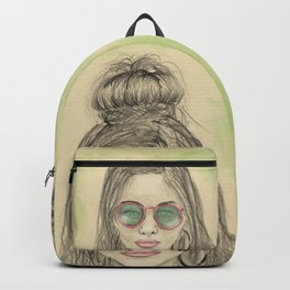 Insomnia colorized Backpack