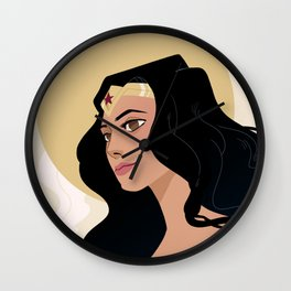 Princess of Themyscira Wall Clock