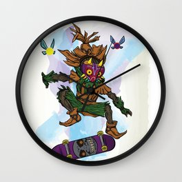 You've Met With A Gnarly Fate, Haven't You? Wall Clock