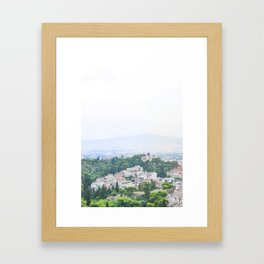 247. Pantheon's View, Greece Framed Art Print