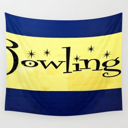 Bowling Wall Tapestry