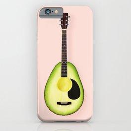 AVOCADO GUITAR iPhone Case