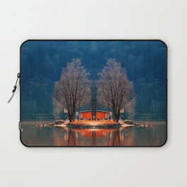 Gone fishing | waterscape photography Laptop Sleeve
