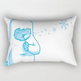 Crystal blower Rectangular Pillow