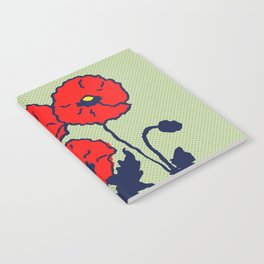 corn poppy Notebook