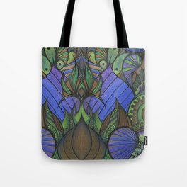 Of Fish and Feathers Tote Bag
