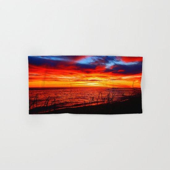 Red Sea at Dawn Hand & Bath Towel