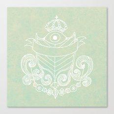The Evil Eye Emblem  Canvas Print