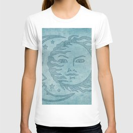 Sun Moon And Stars Batik T-shirt