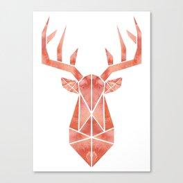Geo Deer Canvas Print