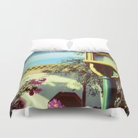 china Duvet Covers featuring China by courtneeeee