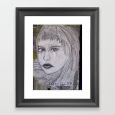 PERFECT SPACE Framed Art Print