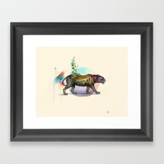 Panthera onca Framed Art Print