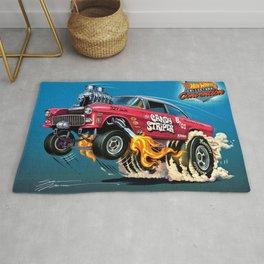 Hot Wheels Candy Striper 55 Gasser Poster Rug