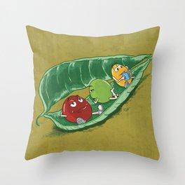"""""""Pea""""ckage Throw Pillow"""