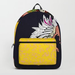 Icarus falling from the sun Backpack