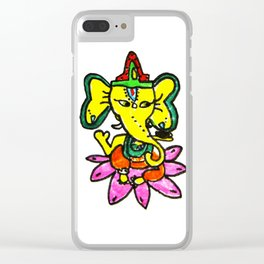 Ganesha by Elisavet Clear iPhone Case