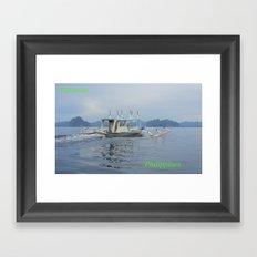 Palawan Island Philippines Framed Art Print