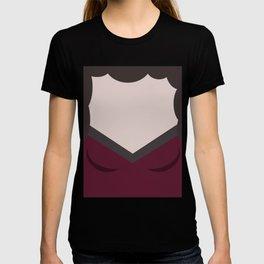 Deanna Troi - Minimalist Star Trek TNG The Next Generation - 1701 D - startrek - Trektangles T-shirt