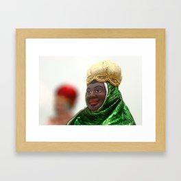 African Wise Men Framed Art Print