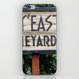 Wy'East - Sign iPhone Skin