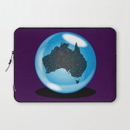 Australia Crystal Ball Laptop Sleeve