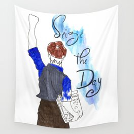 Seize the Day Wall Tapestry