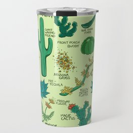 Native Desert Plants Travel Mug