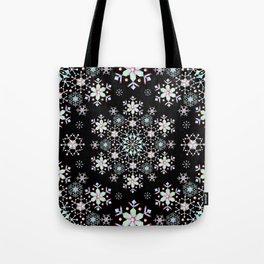 Snowflake Lace Tote Bag