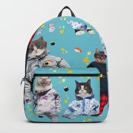 Cat Naps & Sushi Dreams by Crow Creek Coolture Backpack