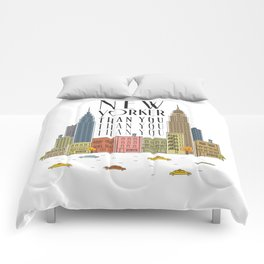 New Yorker Than You Comforters