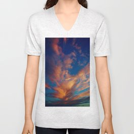 Jewelled Sky Unisex V-Neck
