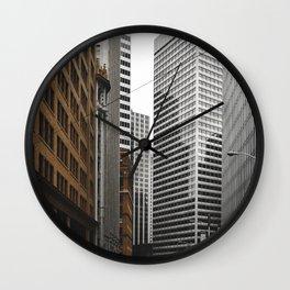 Financial District Wall Clock