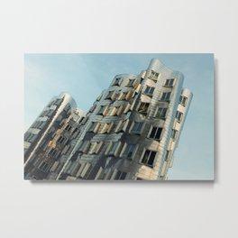 Twisted Building Metal Print
