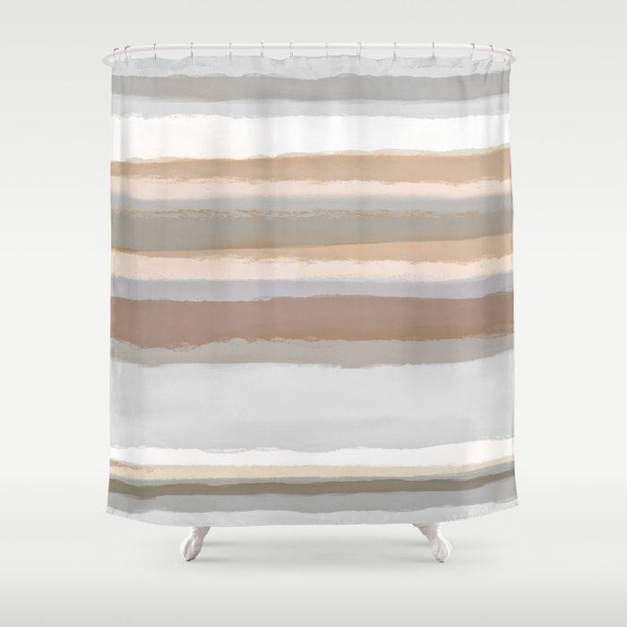 Strips 5 Shower Curtain