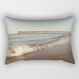 Summer Pier #2 Rectangular Pillow