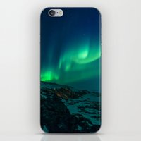 aurora iPhone & iPod Skins featuring Aurora by StayWild