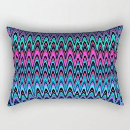 Making Waves Berry Smoothie Rectangular Pillow