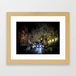 HARLEM NIGHTS. PART ONE Framed Art Print