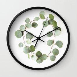 Eucalyptus Circle Wall Clock