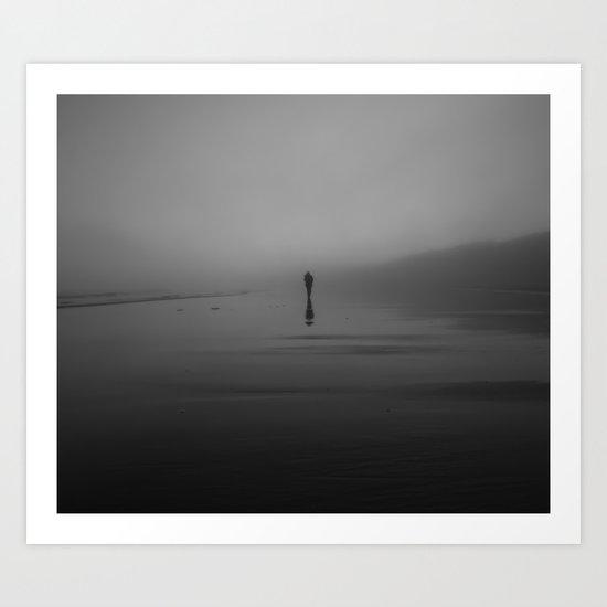 The Morning Fog Art Print