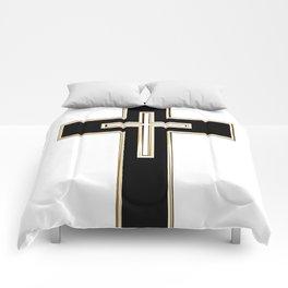 Christian cross Comforters