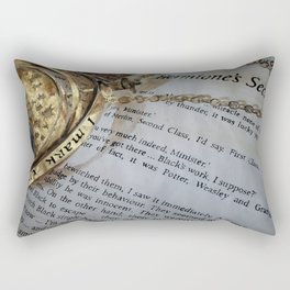 Back in time Rectangular Pillow