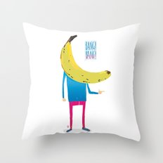 Bang! Bang! Throw Pillow